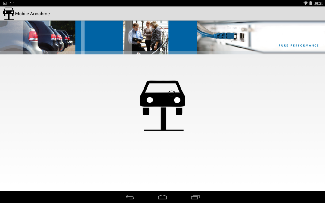 Mobile Service-Annahme / Mobiler Assistent